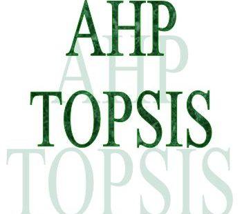 انجام AHP - TOPSIS