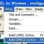 آموزش نحوه ساخت syntax با لیزرل (LISREL)